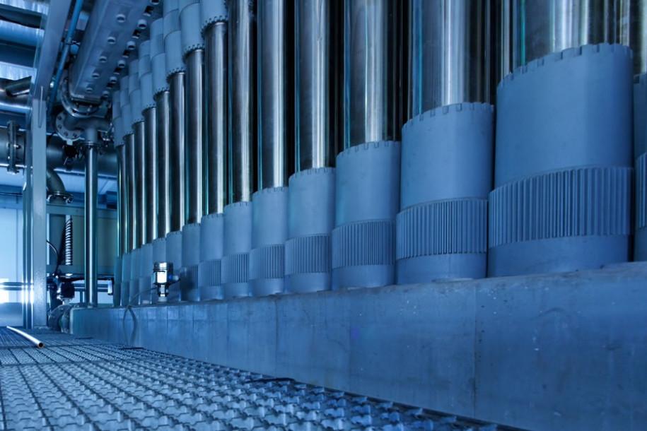 L'usine de microfiltration de Pichette
